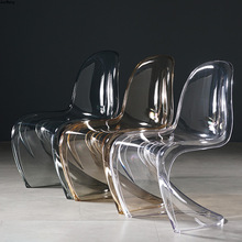 Ghost Chair Furniture Crystal-Stool-Diningroom Acrylic Plastic Transparent Nordic Creative