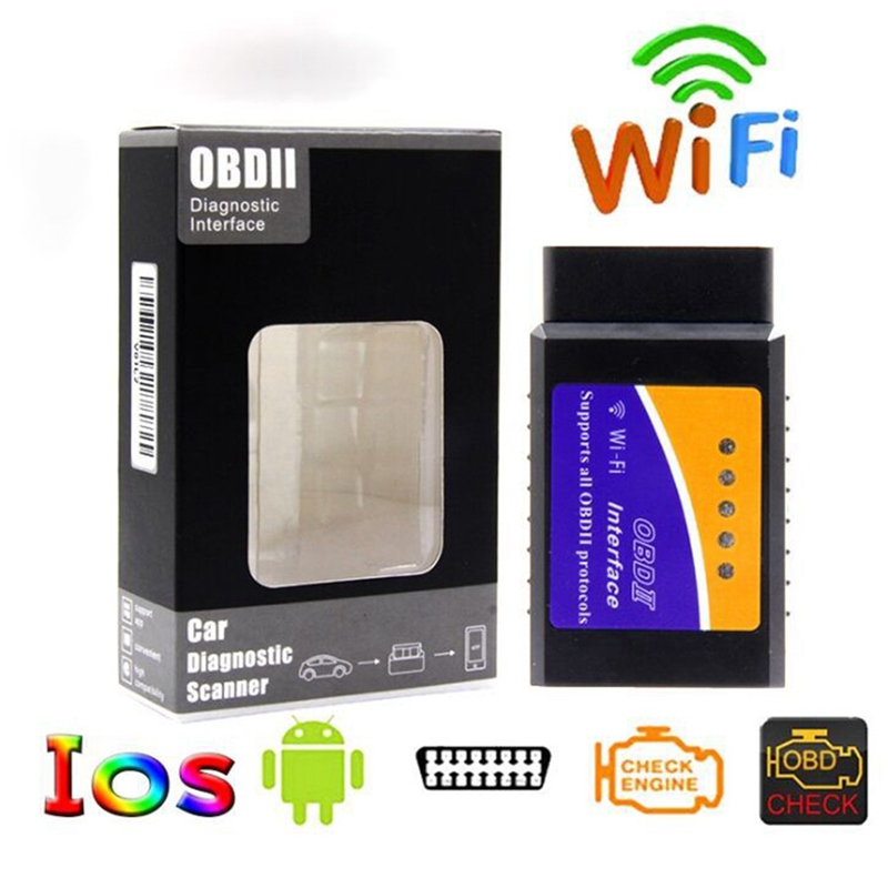 V1.5 Bluetooth/Wifi V1.5 Mini Elm 327 Bluetooth PIC18F25K80 Chip Auto Diagnostic Tool OBDII For Android/IOS/Windows
