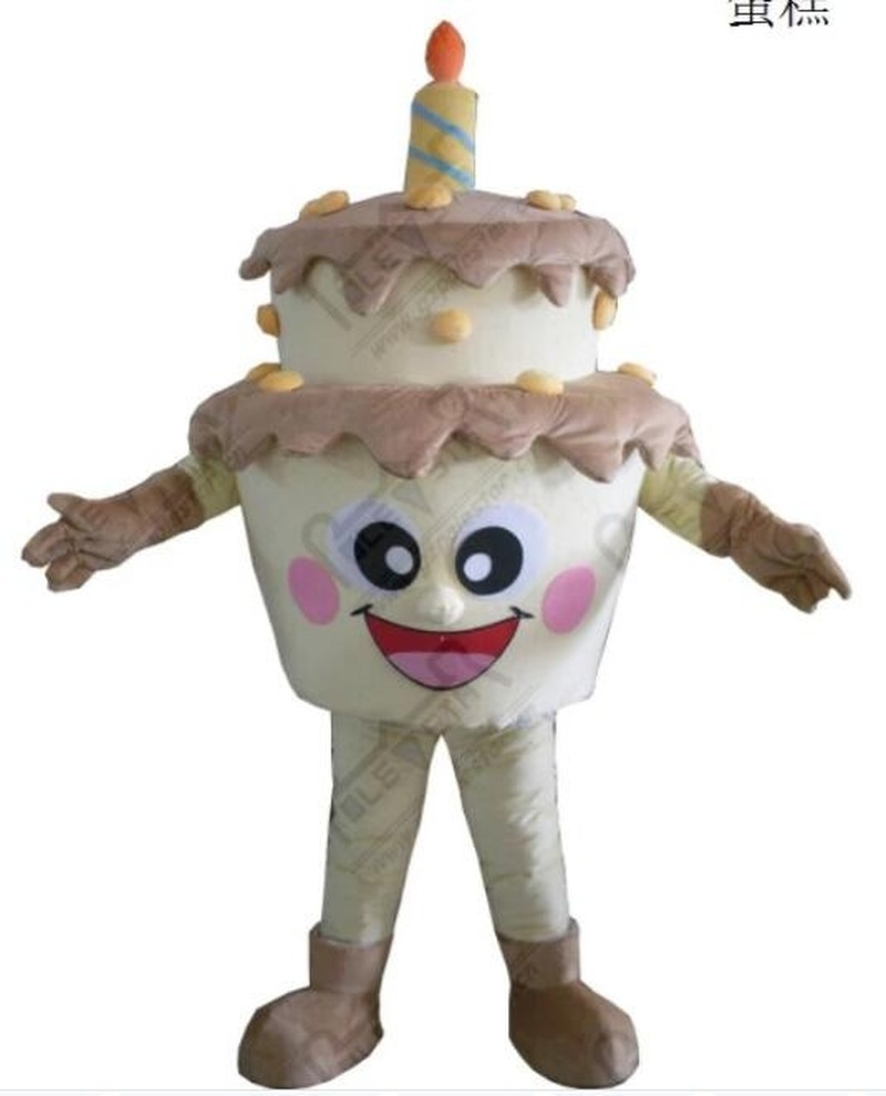 Adultes gâteau mascotte Halloween Costume costumes Cosplay jeu robe tenue vêtements publicité carnaval Hallowen Cosplay unisexe cadeau