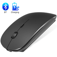 Wireless Mouse Bluetooth Rechargeable Mouse Wireless Mini Silent Mause Computer Ergonomic Mouse 2.4Ghz USB Optical laptop Mice