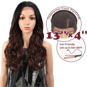 """MAGIC Hair Synthetic 13X4""""Lace Front Wig For Black Women 24""""Inch Loose Wavy Wavy"""