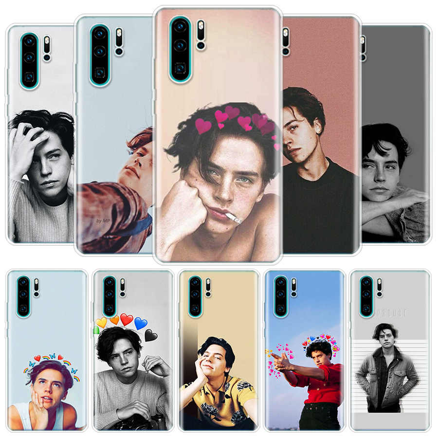 Riverdale Cole Sprouse Jughead Cover Phone Case for Huawei P40 P30 P20 Mate 30 20 10 Pro P10 Lite P Smart Z 2019 Coque Shell Cap