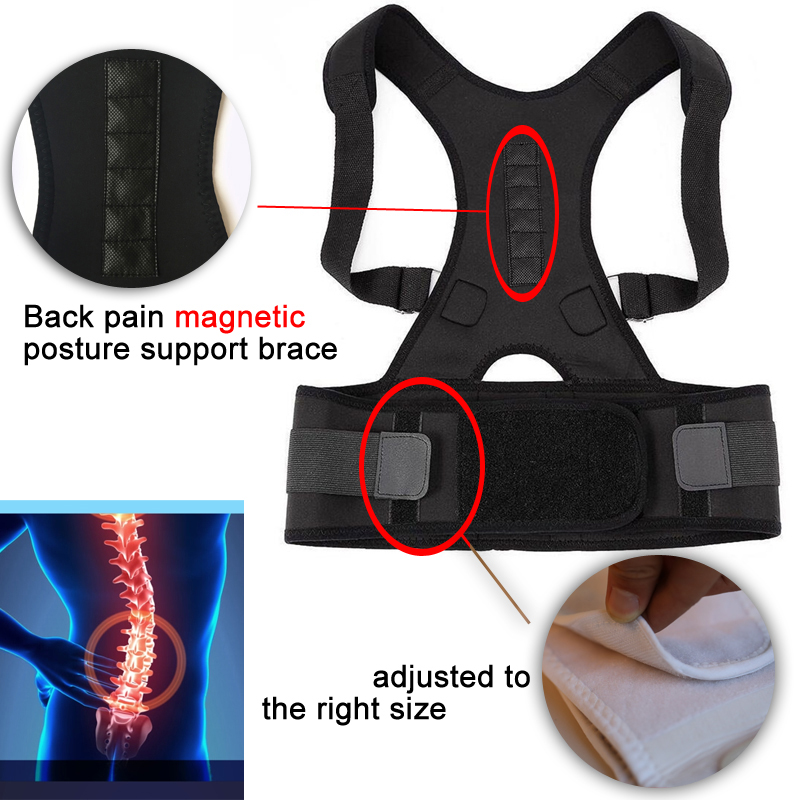 Magnetic Therapy Posture Support Back Brace