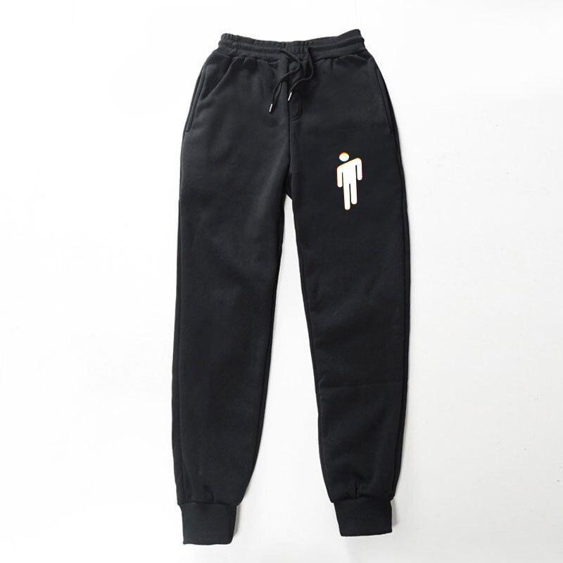 2019 Hot Sale FADUN TOMMY POP Billie Eilish Wrapped Pants Print Autumn And Winter Women/Men Sexy Sweatpants Jogger Kpops Pants