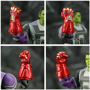 "Image 3 - ZD Spielzeug Avenger 4 Endgame Hulker Quantum Anzug 8 ""20cm Action Figure Movie Robert Bruce Banner Legends Original puppe Modell"
