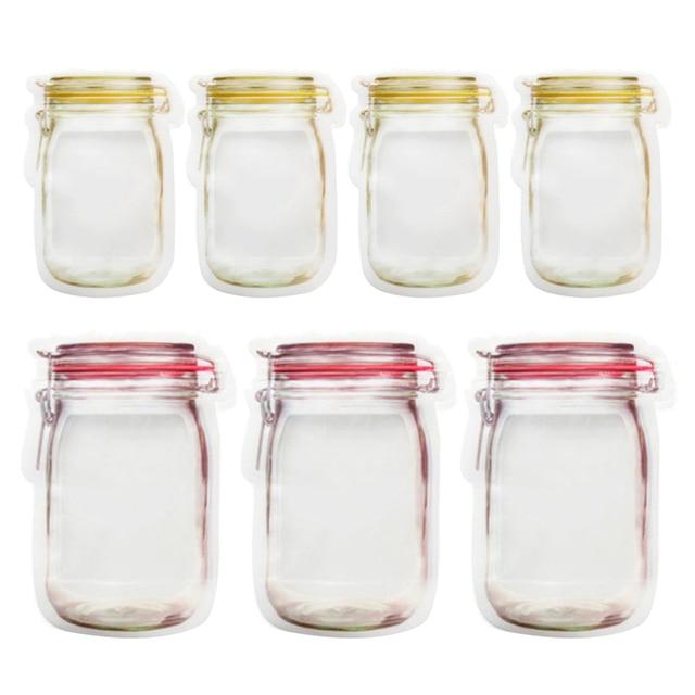 Reusable Seal Silicone Food Fresh Bag Vacuum Sealer Fruit Meat Milk Organizer Storage Bags Kitchen Fresh Storage Bag