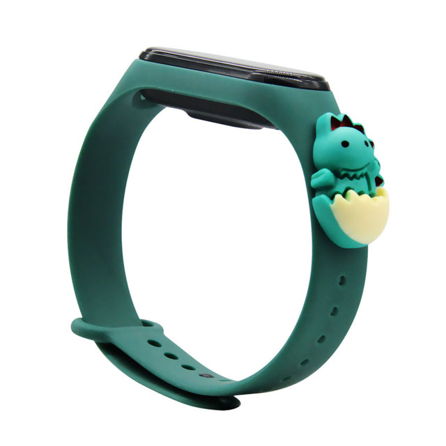Cartoon Strap For Xiaomi Mi Band 5 6 for Smart Watch Wrist M3 M4 Bracelet For Xiaomi MiBand 5 6 for Mi band 4 Strap Replacement 5