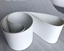 1500x100x2 мм белый пищевой pu конвейерная лента (можно настроить
