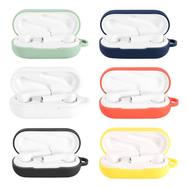 Anti-fall Earphone Case Silicone Protective Cover Shell For Huawei Freebuds 3i Wireless Bluetooth Earphones Accessories