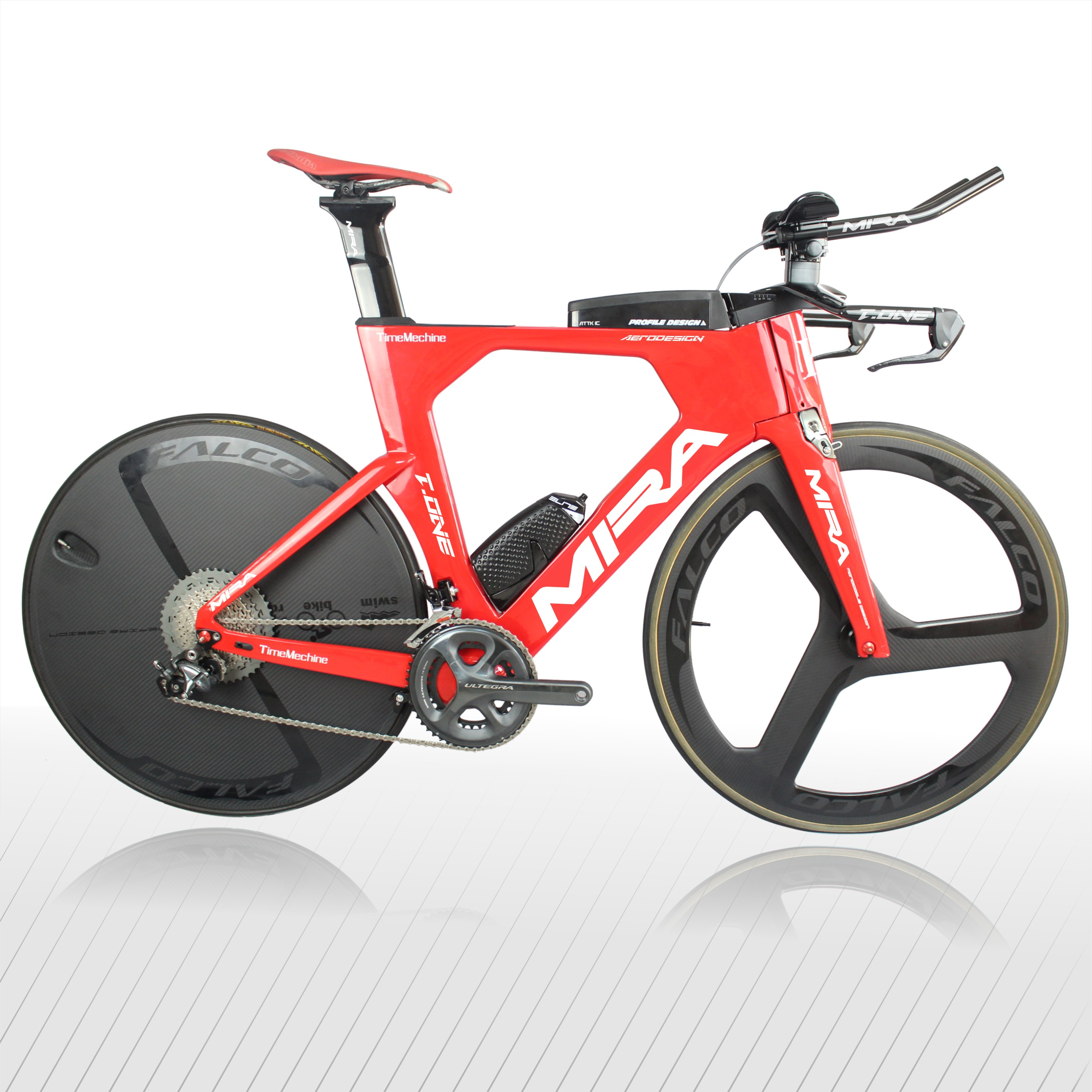 MIRACLE Complete TT Carbon Bike High Quality Carbon Fiber Triathlon  Bicycle Frameset T-ONE Accept Custom Painting