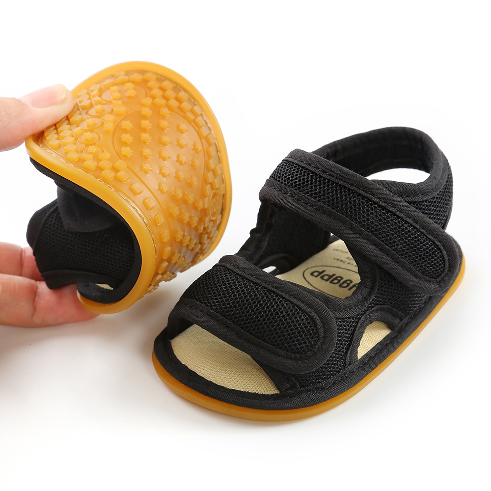 2020 New Summer Sandals For Baby Girls Soft Sole Toddler First Walkers Toddler Girl Shoes Baby Boy Flat Sandales Crib Shoes