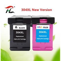 Pojemnik z tuszem 304XL nowa wersja dla hp 304 hp deskjet 304 xl envy 2620 2630 2632 5030 5020 5032 3720 3730 5010 drukarki
