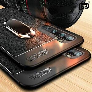 For Xiaomi Mi Note 10 Case Lea