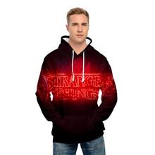 Stranger Things hoodie 3D The latest Print Leisure Spring Autumn Men Sweatshirt Women Hoodies Harajuku Hip Hop Streetwear
