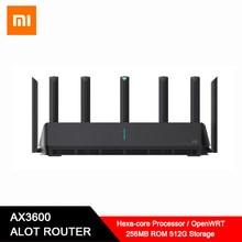 Xiaomi – routeur Mi AIoT AX3600 wi-fi 6 5G, 2976mbs, Gigabit, amplificateur de Signal, 512 go RAM, AIoT, antenne intelligente de sécurité WPA3, Original