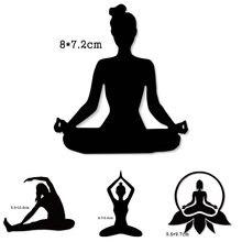 Женские металлические режущие штампы для йоги Спортивная форма
