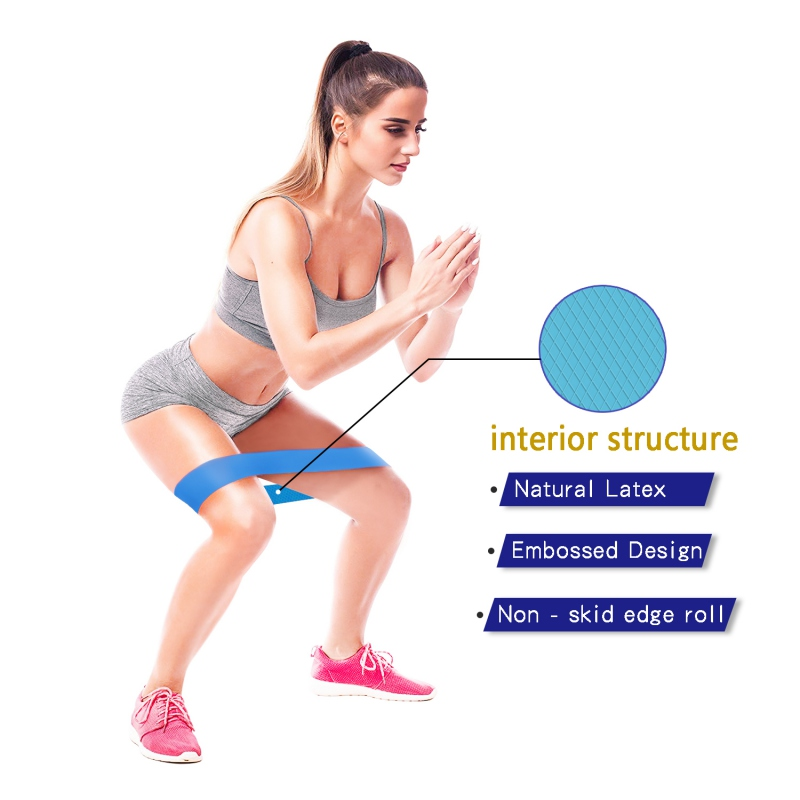 Yoga Belt Resistance Bands Non-slip Emulsion Pull Rope For Sports For Home Strength Training Gum Gym Workout Equipments