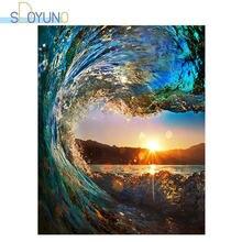 Sdoyuno 60х75см краска для масла по номерам морской пейзаж diy