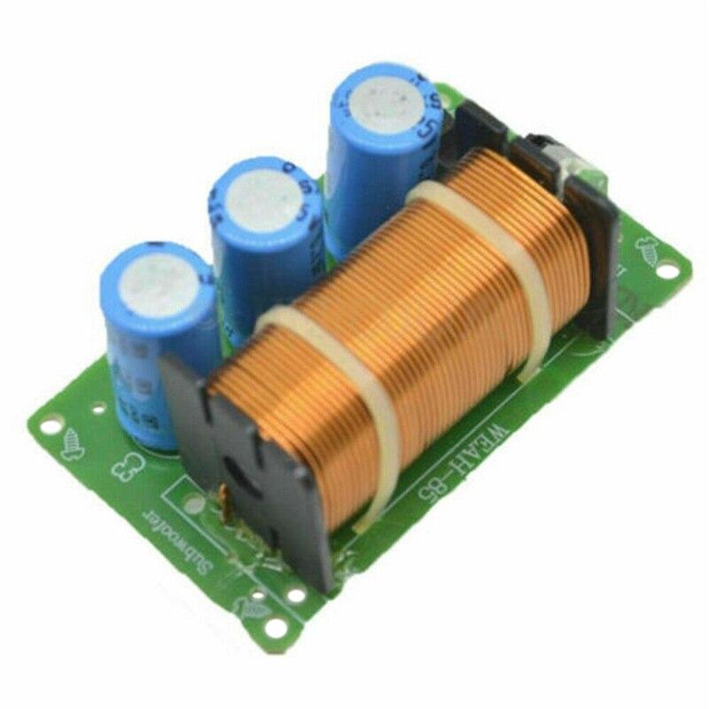 200W Lautsprecher Crossover 1 Way Reine Bass 8 Ohm Frequenz Teiler für 5 Inch-8 Inch Lautsprecher
