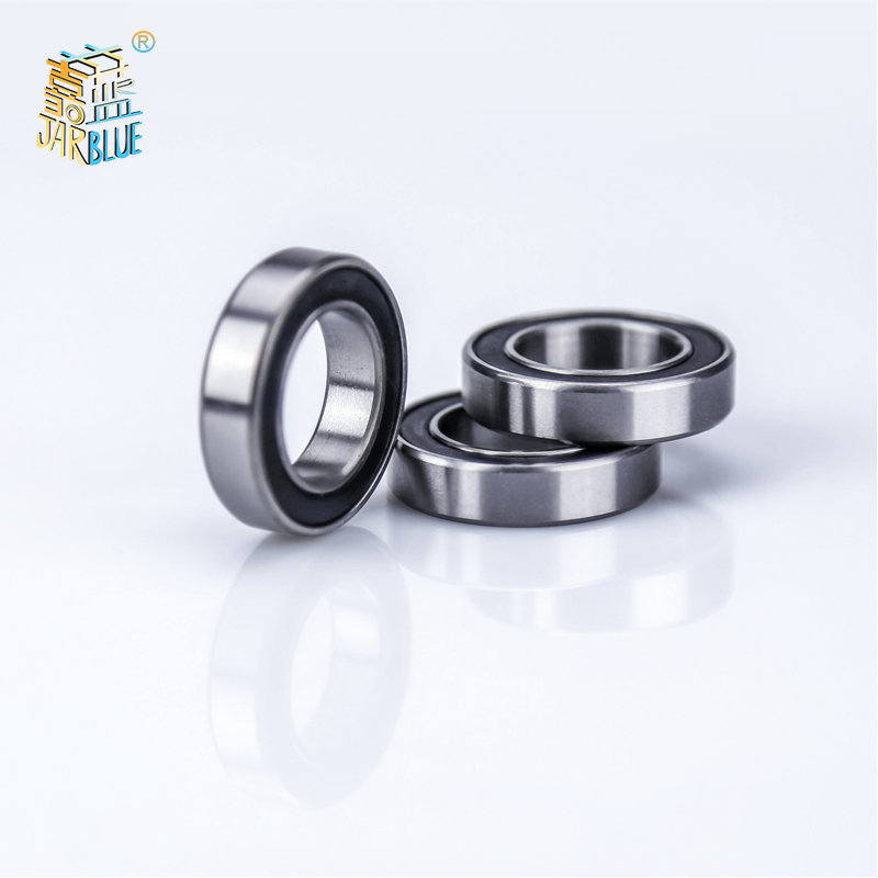 10pcs High Quality Abec-5 6701 2rs <font><b>6701rs</b></font> 6701-2rs 6701 Rs 12x18x4 Mm Miniature Double Rubber Seal Deep Groove Ball Bearing image