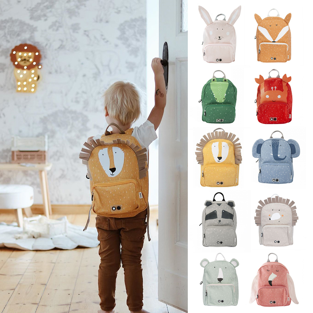 Kids Backpack 2020 New Fashion Kid Animal Zoo School Bag Lovely Cute Toddler Children Boys Girls Backpack Baby All Accessories