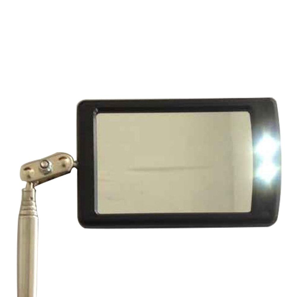 Автомобильный светодиодный светильник, расширяющееся зеркало для осмотра, эндоскоп, автомобильное шасси, угол обзора, автомобильный Телескопический инструмент обнаружения, оборудование
