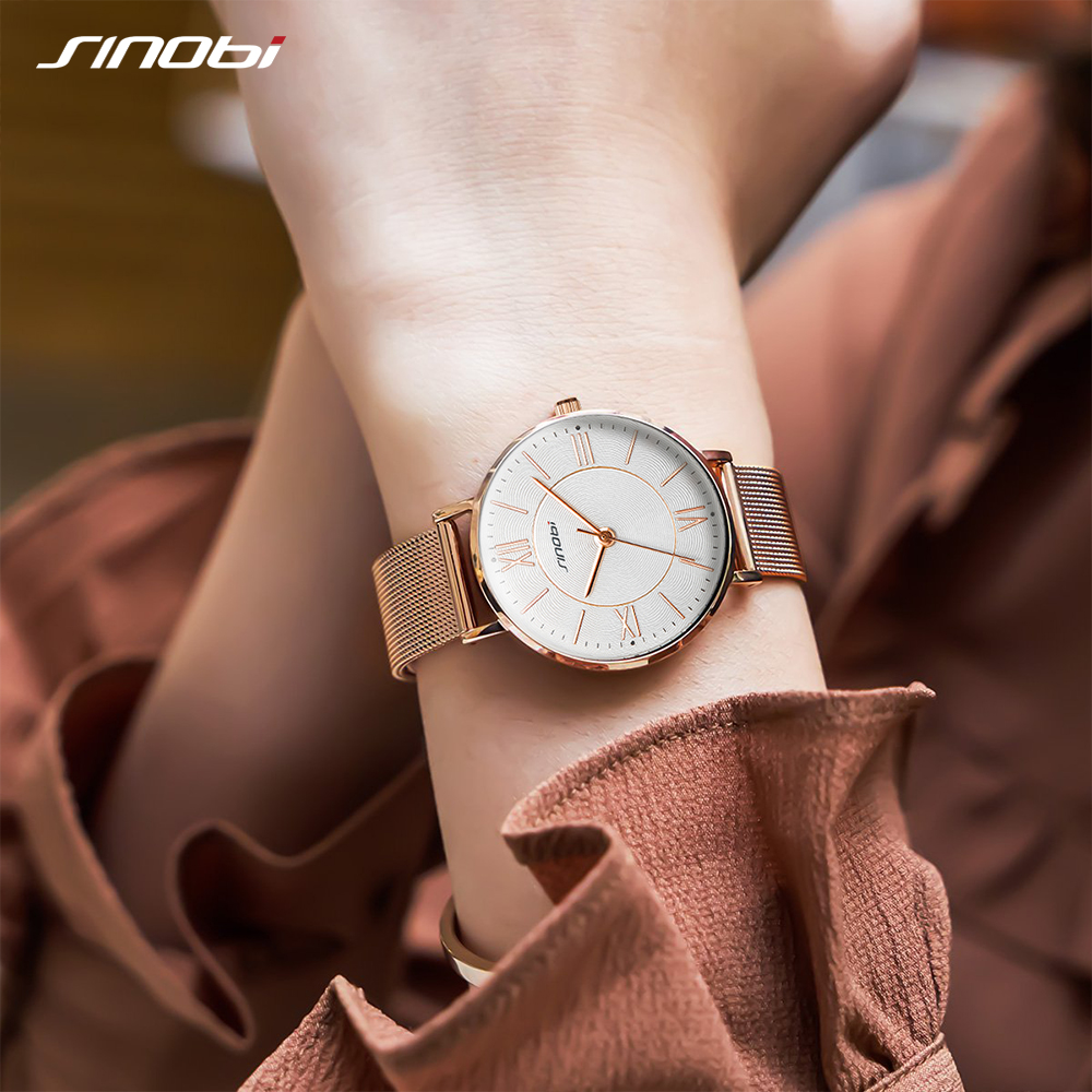 Best Top Sinobi Watches Women Slim Near Me And Get Free Shipping A785