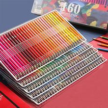Brutfuner 48 72 120 160 180 kolor profesjonalny kolor oleju ołówki drewno miękka kredka akwarelowa do rysowania szkolnego przybory do szkicowania tanie tanio XSYOO CN (pochodzenie) kolorowa Do malowania Colored pencil Professional Drawing pencils Oil Color Pencils Water Color Pencils