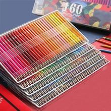 Brutfuner-Kit lápis de cor profissionais com cores a óleo, aquareláveis, macios, em madeira, material escolar ou para arte, desenho e esboço 48/72/120/160/180 cores
