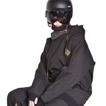 Winter Jacket for Men Women Windproof Waterproof Breathable Snowboard ski Jacket Men Outdoor Snowmobile Hooded Snow Jacket