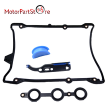 New Set For VW Passat B5 For Audi A4 B6 A6 2.4L 2.7L 2.8L V6 078198025 058198217 Engine Valve Cover Gasket Chain Tensioner D5