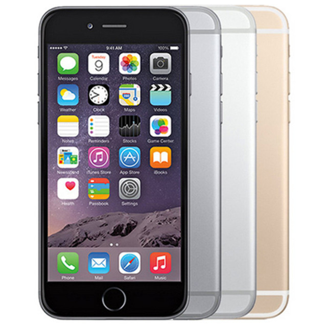 Original Apple iPhone 6 Sealed Box Factory Unlocked Smartphone Dual Core 4.7 Inch 128GB ROM 8MP Multi-Touch WCDMA 4G LTE Phone 2