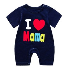 Toddler Clothing Short-Sleeve Jumpsuit Rompers Newborn Infant One-Pieces Baby-Boy-Girl