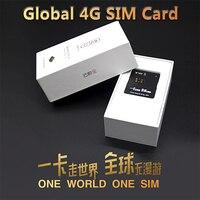 Yunyobo-G-SIM Global Smart 4G, tarjeta SIM de Internet de bajo coste, usado de forma permanente en cualquier lugar sin Roaming