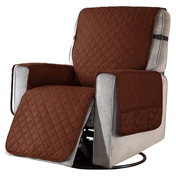 Removable Towel Recliner Cover With Pockets 5 Chair And Sofa Covers