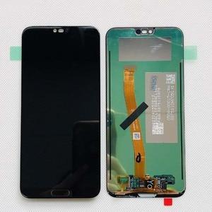Image 2 - 100% اختبار 5.84 ل هواوي honor 10 honor 10 COL L29 كامل شاشة الكريستال السائل + محول الأرقام بشاشة تعمل بلمس قطع تجميع الأصلي LCD bkl l04