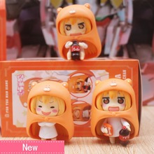 Anime Himouto Umaru Chan Umaru Doma PVC Action Figure Collectible Model doll toy 10cm (3pcs/set) 8style archetype he archetype she ferrite shfiguarts body kun body chan ver pvc action figure collectible model toy with box