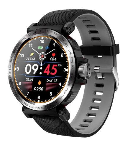 SENBONO S18 спортивные IP68 Водонепроницаемые Смарт-часы с сенсорным экраном Мужские часы с монитором сердечного ритма Смарт-часы фитнес-трекер Б...