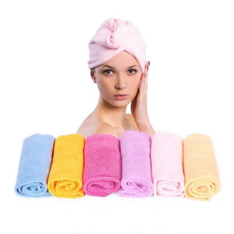 Magic Dry Hair Cap Microfiber Bath Towel Super Absorbent Thickening Quick-drying Shower Cap Headscarf Hood Swimming Tools