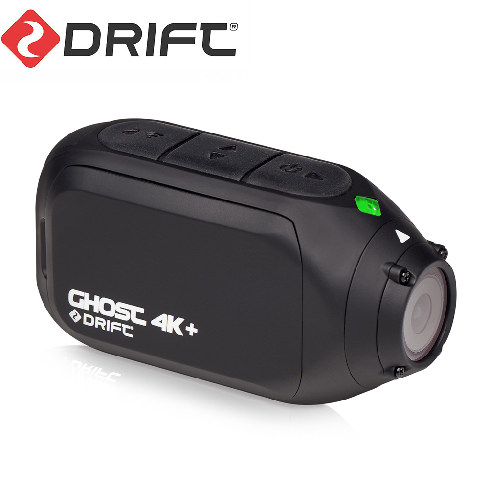 Drift Ghost 4K+ Plus Action Sports Camera Motorcycle Bicycle Bike Mount Helmet Cam with WiFi 4K HD Resolution External Mic 1