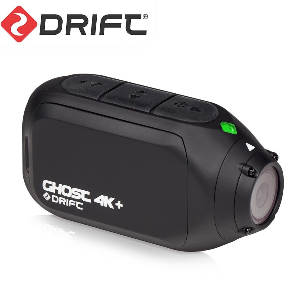 Drift Ghost-Cámara de deportes de acción 4K + Plus, montaje para bicicleta de montaña, casco, cámara con WiFi, resolución 4K HD, micrófono externo