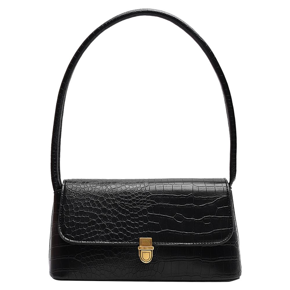 Women Crocodile Pattern Handbag Fashion PU Leather Handbags For Female Solid Luxury Handbags Women Bags Designer Shoulder Bag