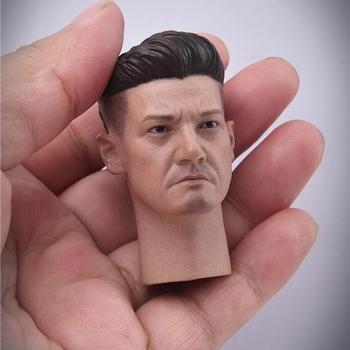 JXTOYS JX043 1 6 Jeremy Renner głowa Sculpt mężczyzna żołnierz głowa rzeźba Model Fit 12 cal figurka ciała tanie i dobre opinie lalki 7-12y CN (pochodzenie) Unisex not real PIERWSZA EDYCJA Wyroby gotowe A80144 Zachodnia animacja Produkty na stanie