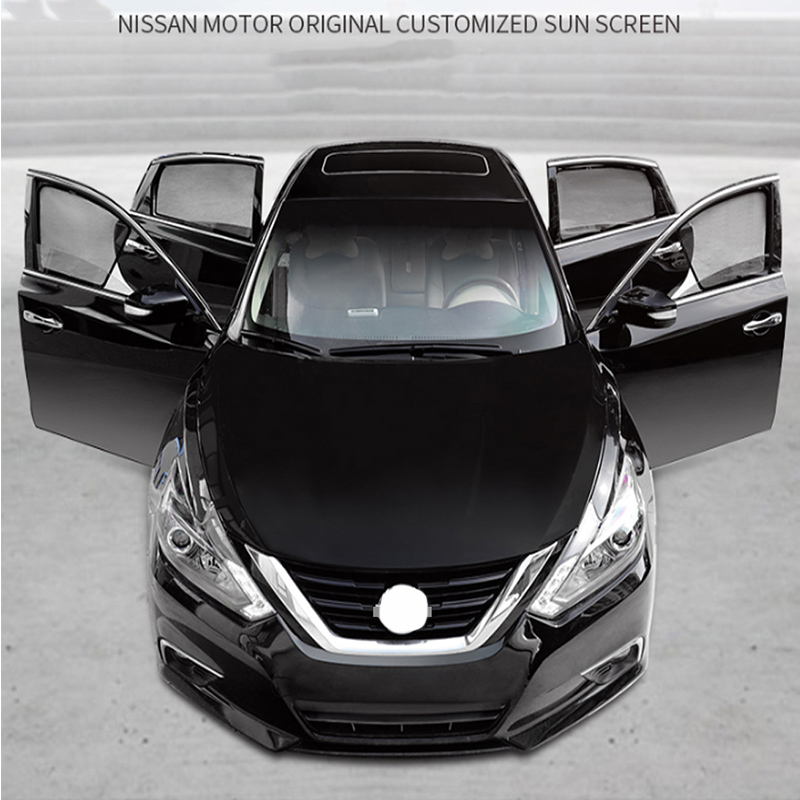 For Nissan X-trail T32 2015 2016 2017 2018 Magnetic Window Curtain Visor Sun Shade Side Window Sunshades Sunshield Accseeories