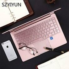 14'' J4105 Portable Laptop 8G RAM High Speed SSD Business Office Metal Notebook