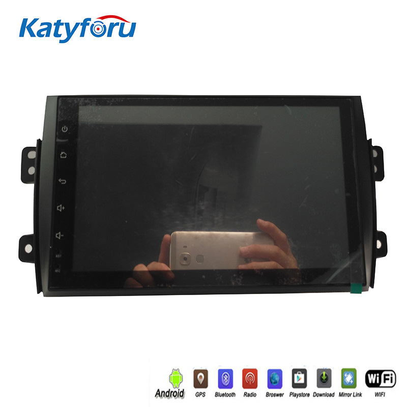 sent by DHL 9inch car radio gps with <font><b>android</b></font> for <font><b>suzuki</b></font> <font><b>sx4</b></font> with 32g memory 4G WIFI capacitive sceen 1024x600 rear camera input image