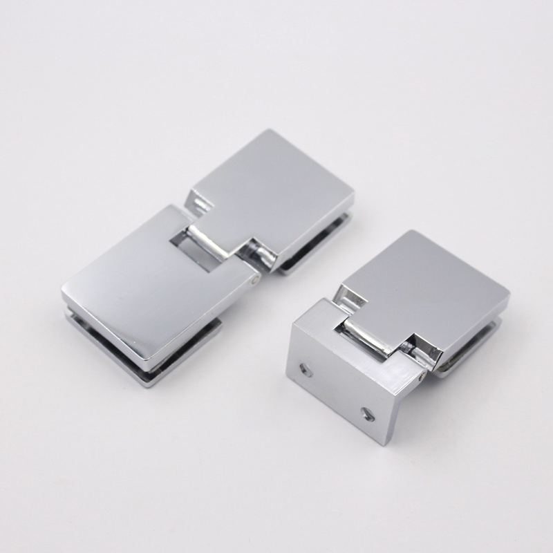 8-10mm Frameless Bracket Wall To Glass Door Hinges Bathroom Shower Door Bracket Wall Mount Door Hinge New Arrival