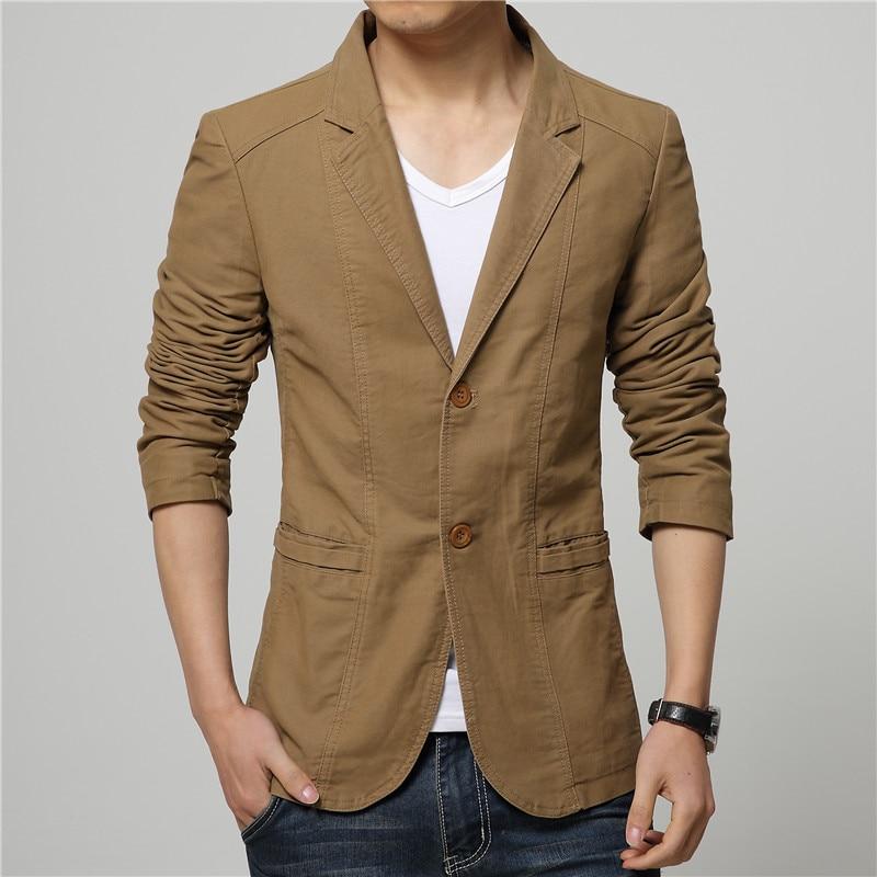 DEE MOONLY 2018 New Mens Casual Slim Fit Blazer Men Wedding Dress Blazer Jacket Mens Red Suit Jacket Manteau Homme