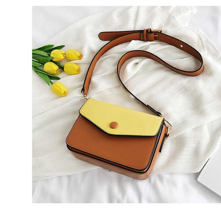 Kmuysl moda estilo quente, saco feminino versátil cor doudou saco alça de ombro larga, alta qualidade couro bolsa de ombro