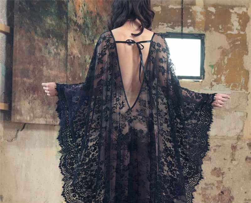 lace beach cover up (1)